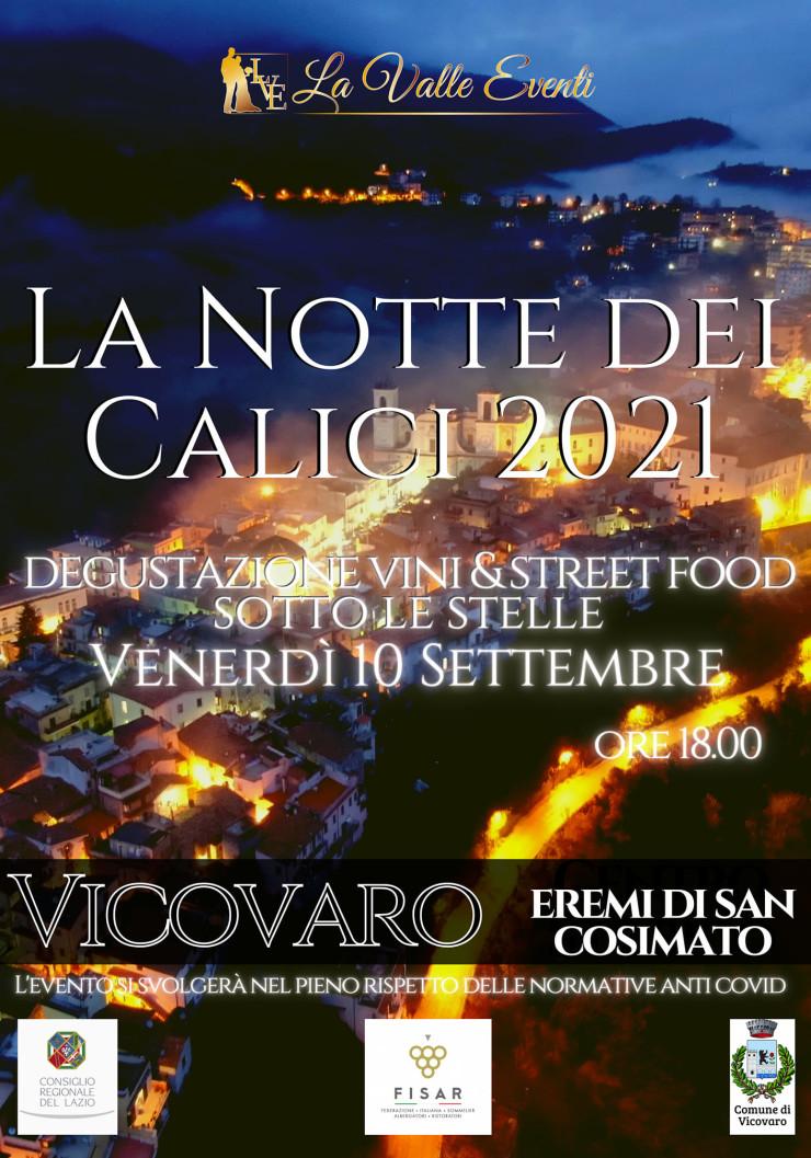 VICOVARO (RM): La notte dei calici 2021