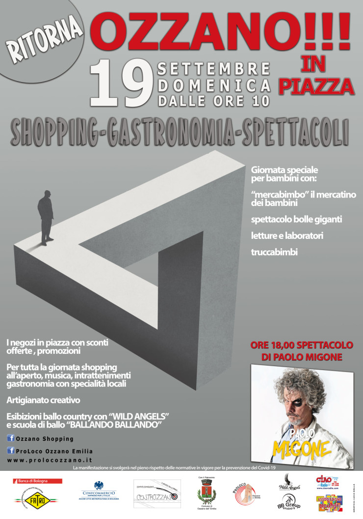 OZZANO (BO): Ozzano in Piazza 2021