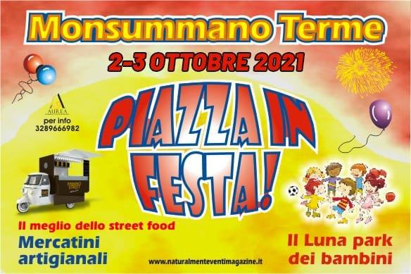 MONSUMMANO TERME (PT): Piazza in Festa 2021