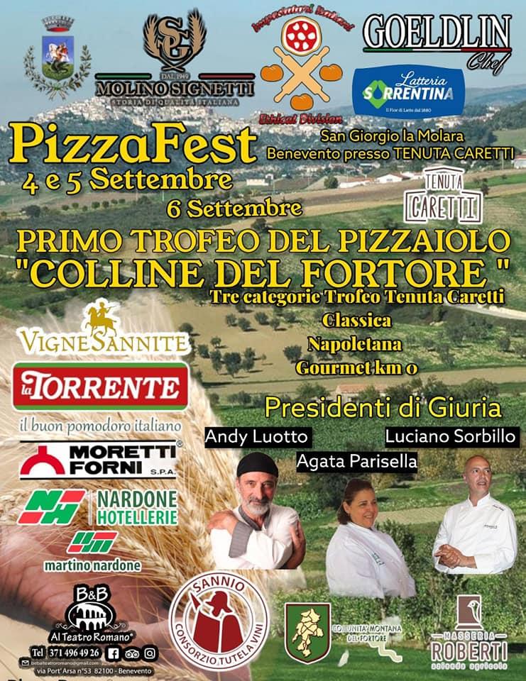 SAN GIORGIO LA MOLARA (BN): Pizza Fest 2021 - 1° Trofeo del Pizzaiolo