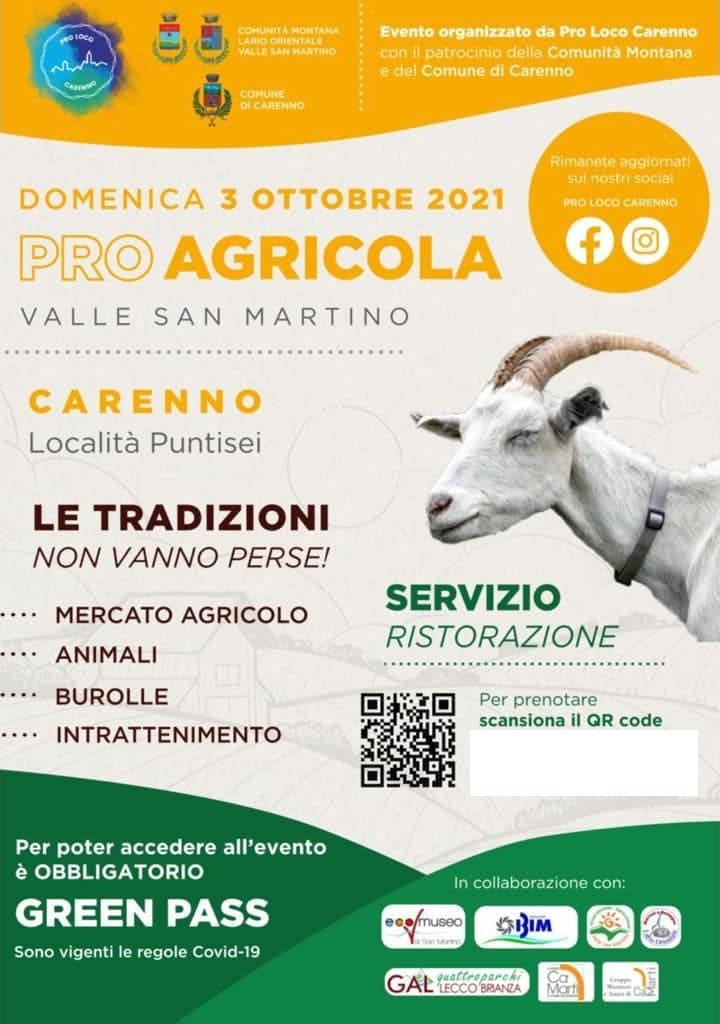 CARENNO (LC): Pro Agricola 2021 a Puntisei