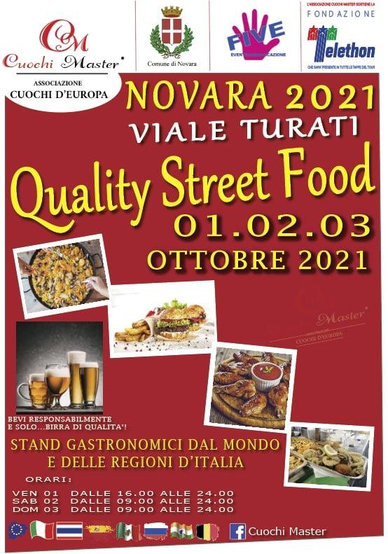 NOVARA (NO): Quality Street Food 2021