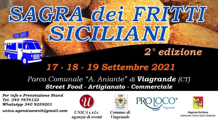 VIAGRANDE (CT): Sagra dei fritti siciliani 2021