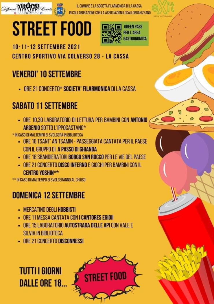 LA CASSA (TO): Street Food