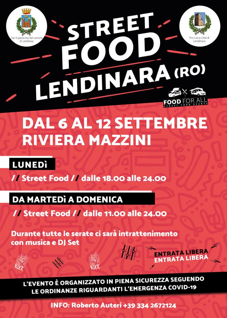 LENDINARA (RO): Street Food alla Fiera di Lendinara 2021