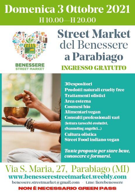 PARABIAGO (MI): Street Market del Benessere 2021
