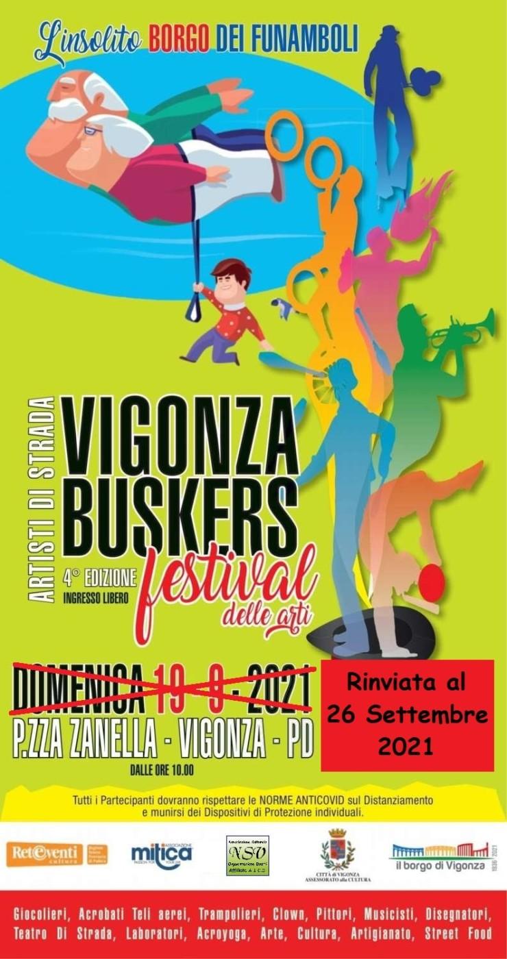 VIGONZA (PD): Vigonza Buskers - Festival delle Arti 2021