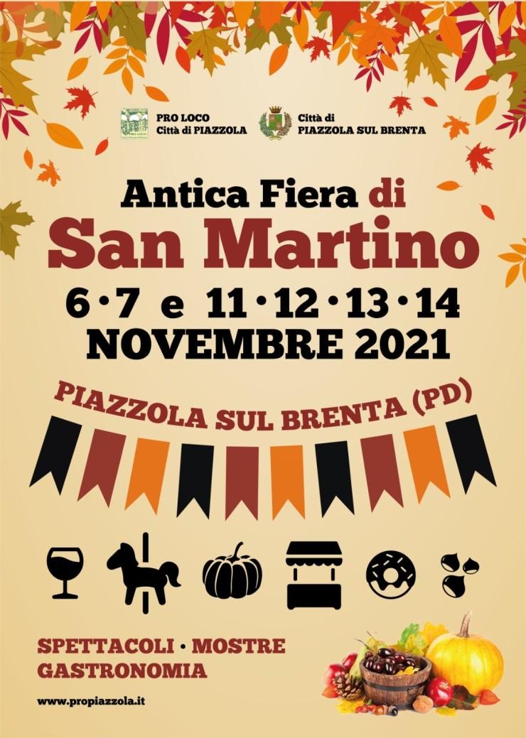 PIAZZOLA SUL BRENTA (PD): Antica Fiera di San Martino 2021