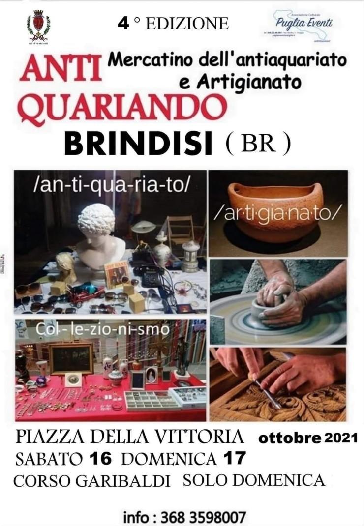 BRINDISI (BR): Antiquariando 2021