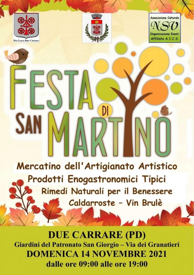 DUE CARRARE (PD): Festa di San Martino 2021
