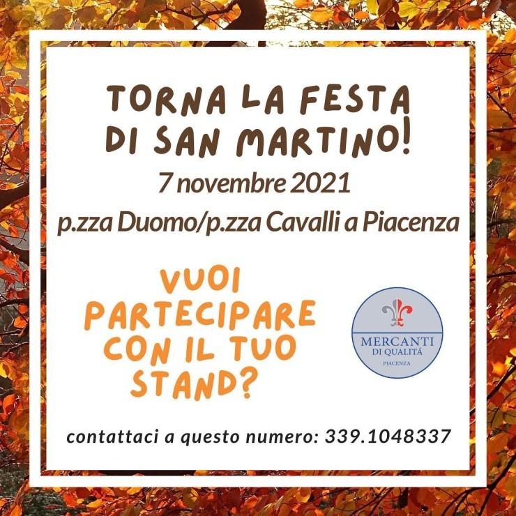 PIACENZA (PC): Festa di San Martino 2021