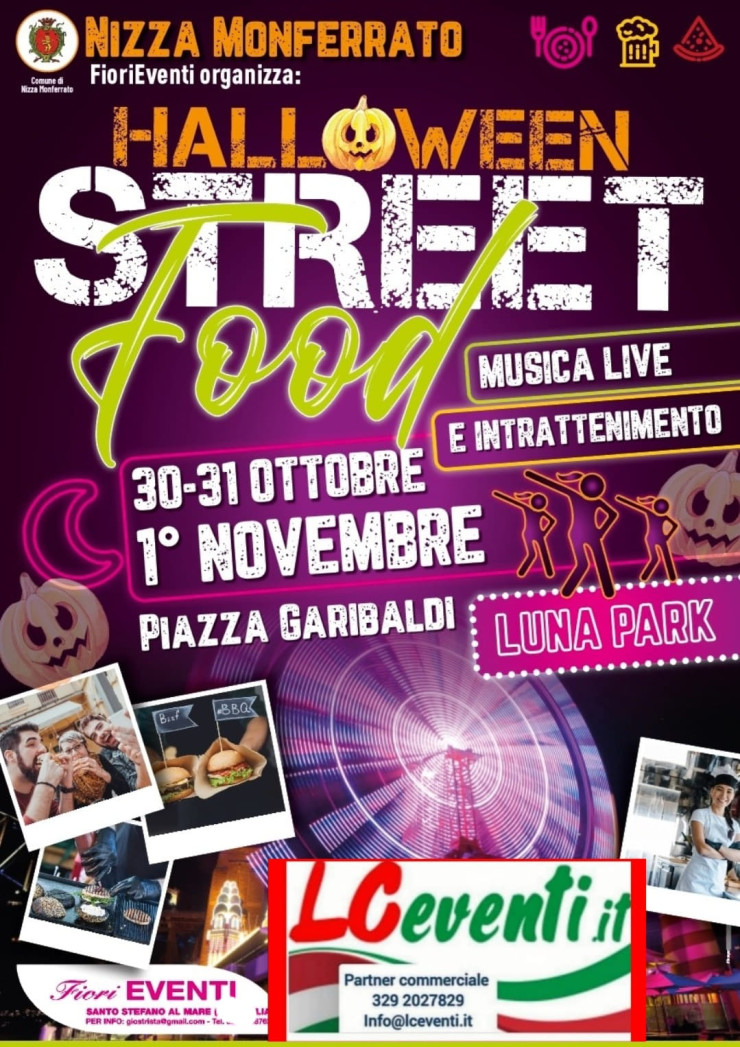 NIZZA MONFERRATO (AT): Halloween 2021 Street Food