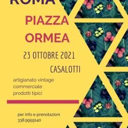 mostra mercato piazza ormea roma