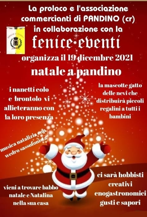 PANDINO (CR): Natale a Pandino 2021