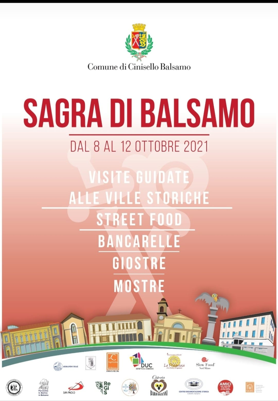 CINISELLO BALSAMO (MI): Sagra di Balsamo 2021
